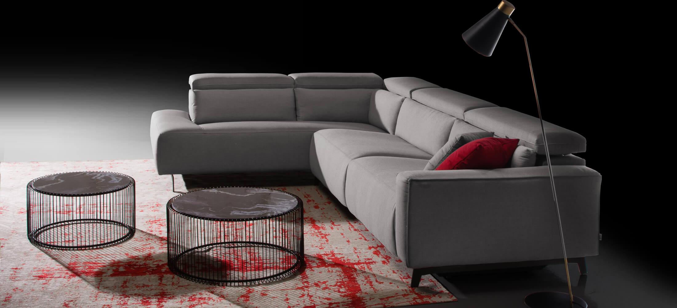 Sofa relax Shira 3 plazas + rincón terminal