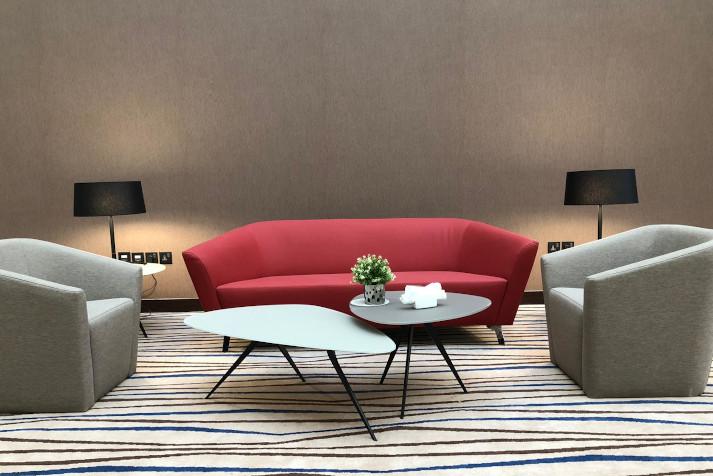 Sofá Ondo - Proyecto Hotel Cristal Amaken