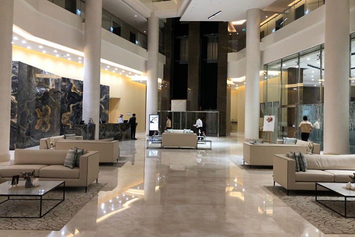 Recepción Cristal Amaken Hotel