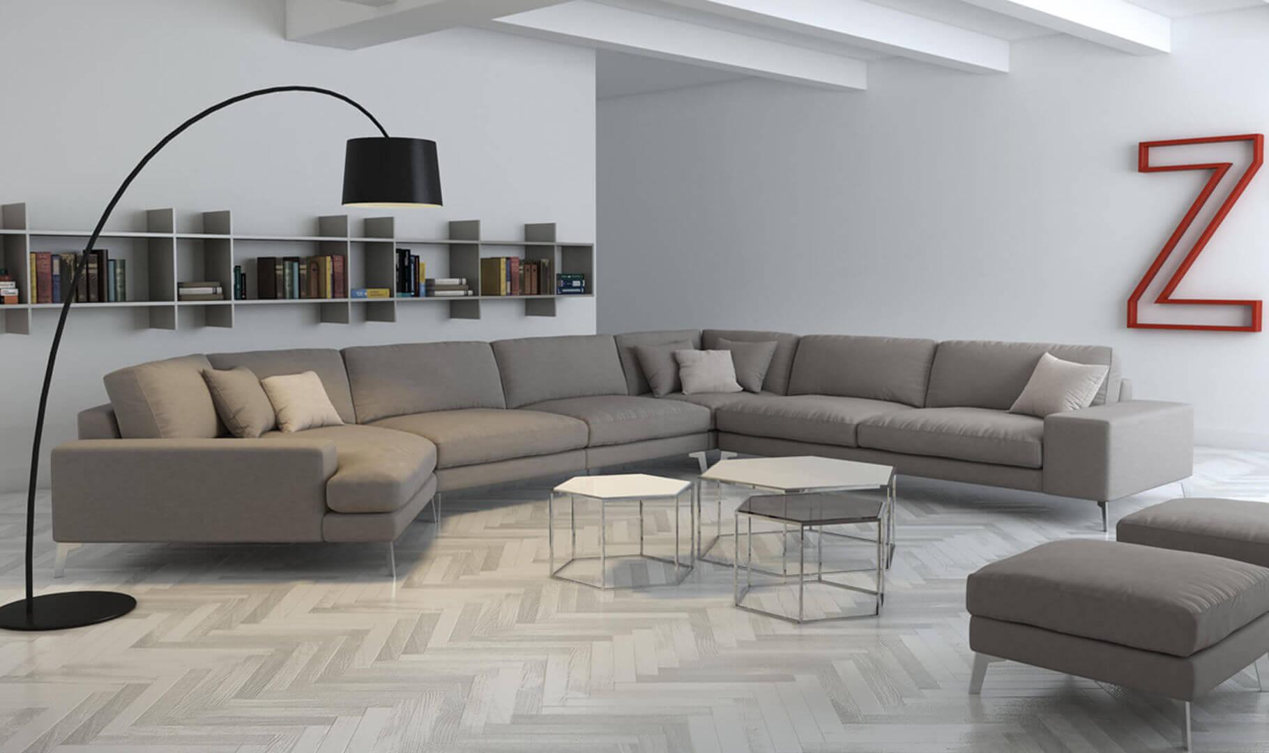 Opciones de los sofas modulares en decoracion