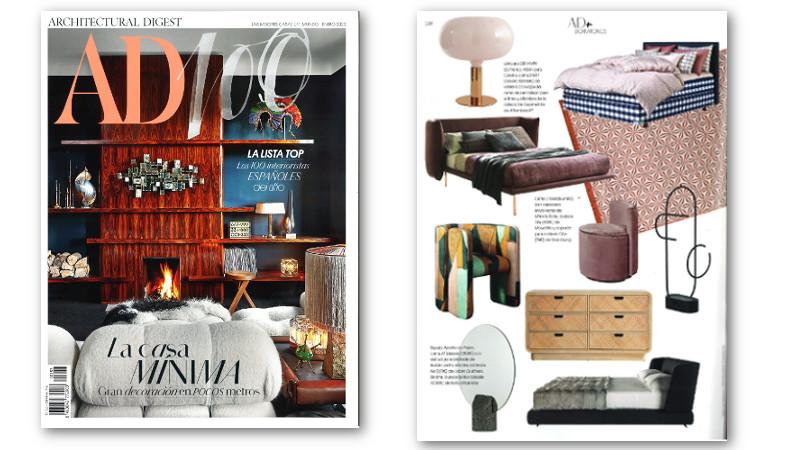 Revista AD - Puf Talu Moradillo en especial dormitorios