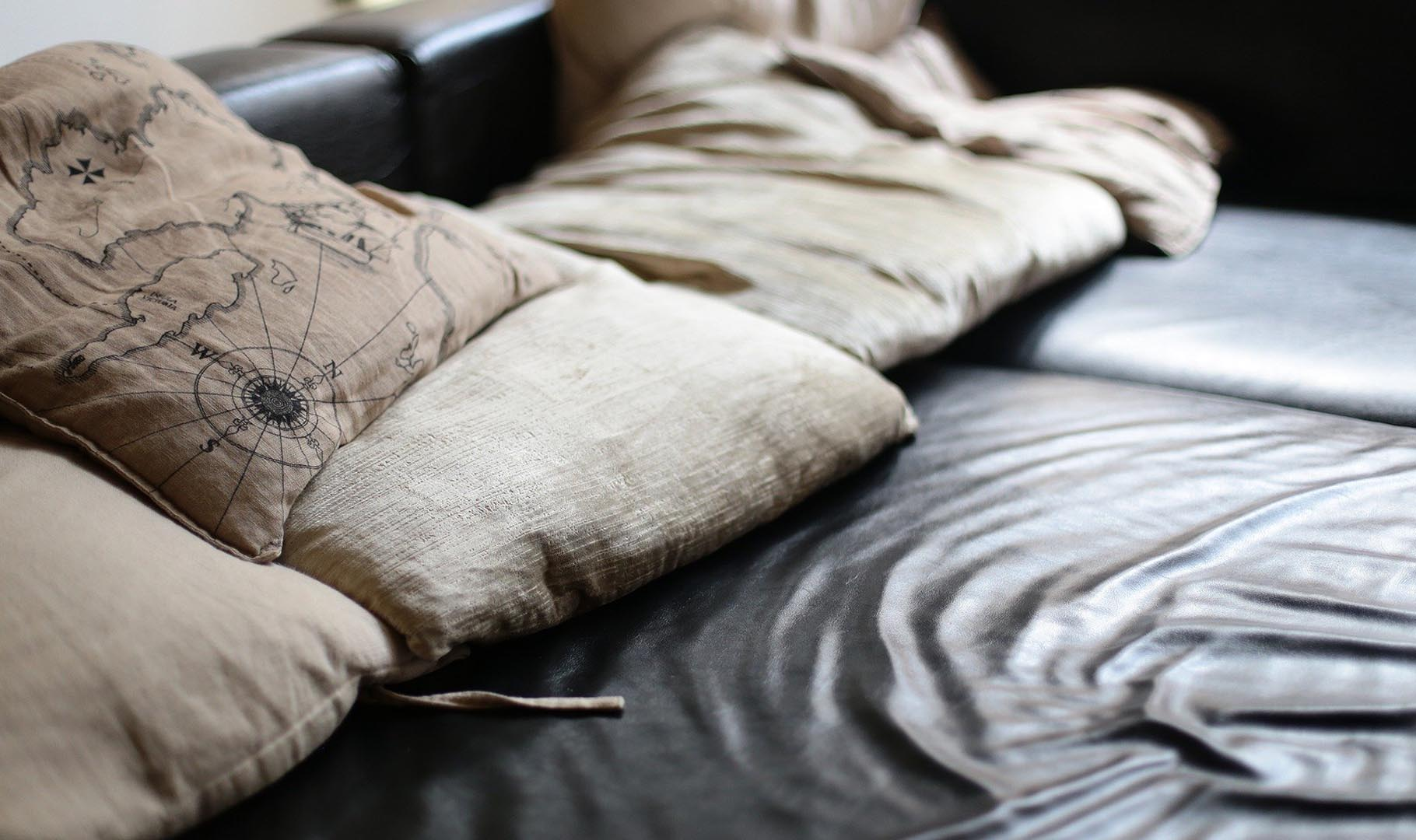 sofa piel natural