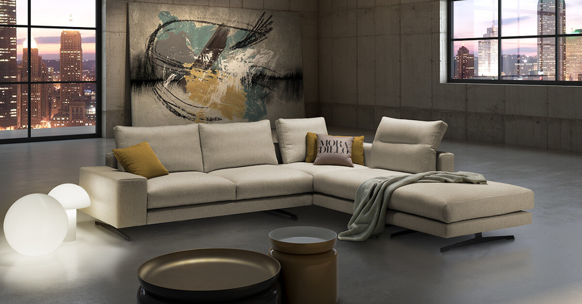 Ambiente sofá modular Poso